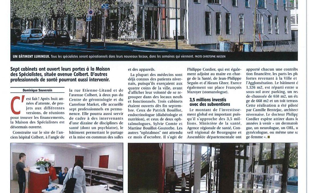 Maison des Spécialistes – Site COLBERT